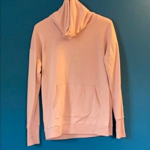 Onzie Cowell Neck Sweat Shirt with open back small